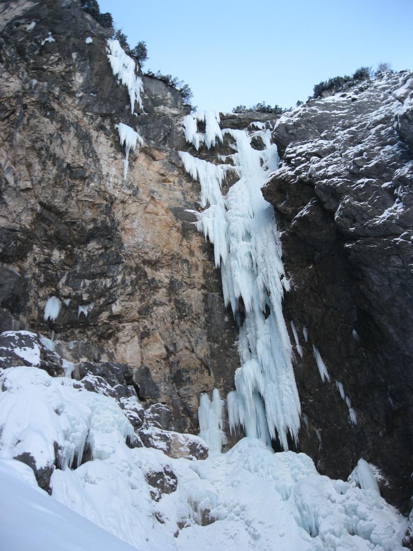 """Einmal und Nie wieder- die Eisformationen von """"Seebenseefall"""""""