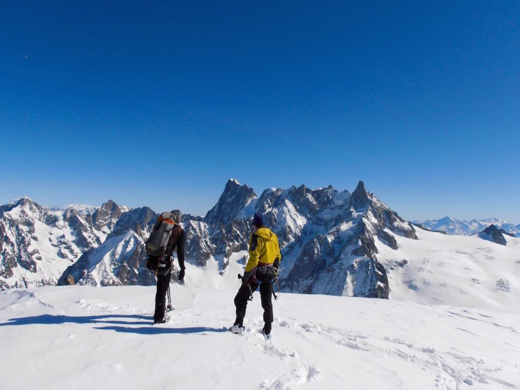 Egon und Hannes am Gipfel