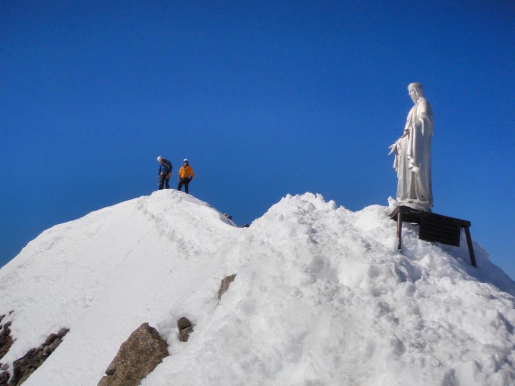 Gipfel des Mont Dolent