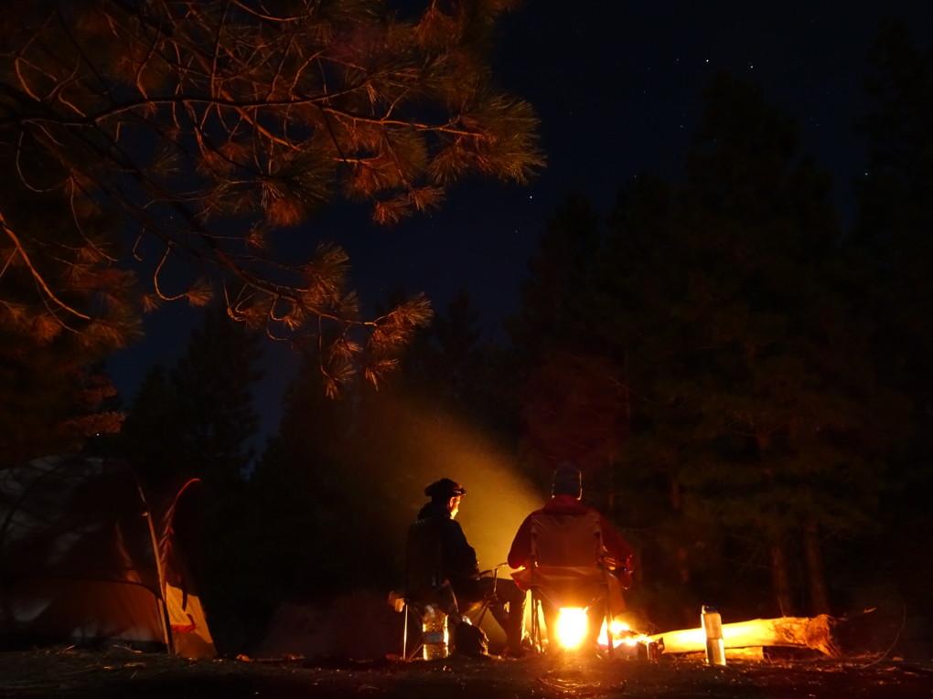 """unser """"Camp"""" in den Needles"""