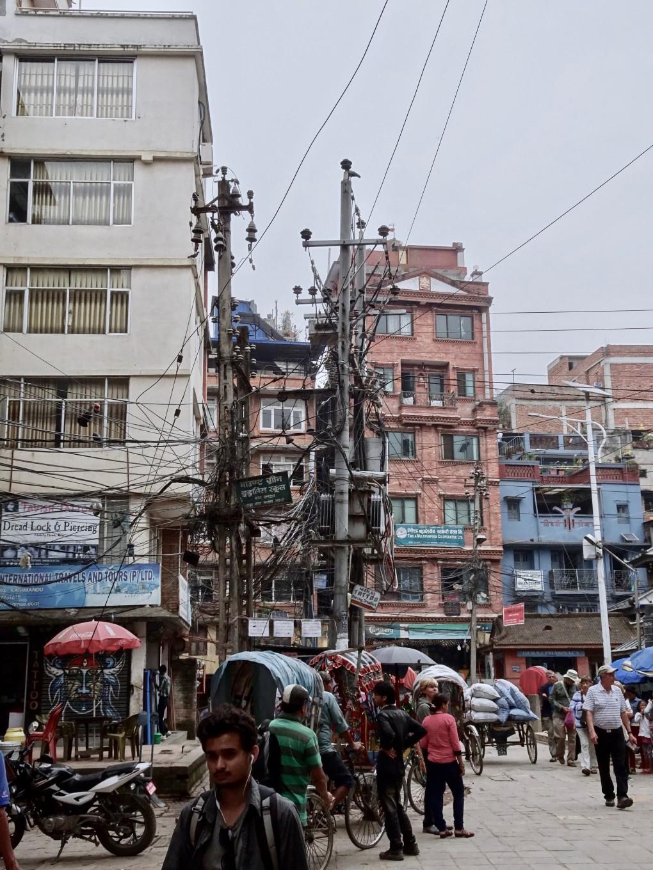 Angekommen in Kathmandu. Es scheint trotzdem zu funktionieren?!?